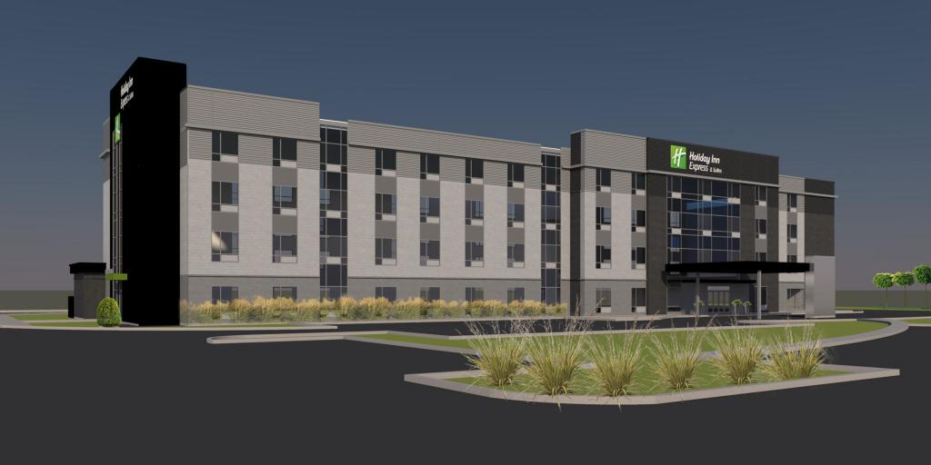 Début des travaux de construction du Holiday Inn Express & Suites Trois-Rivières