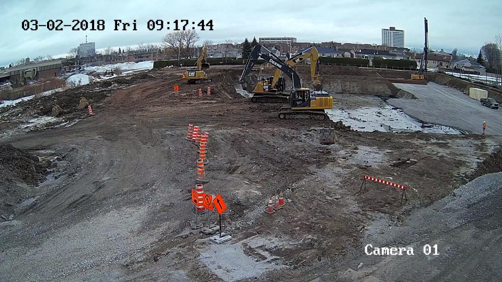 Ça y est, la construction du futur Complexe résidentiel Le Saphir est commencée!