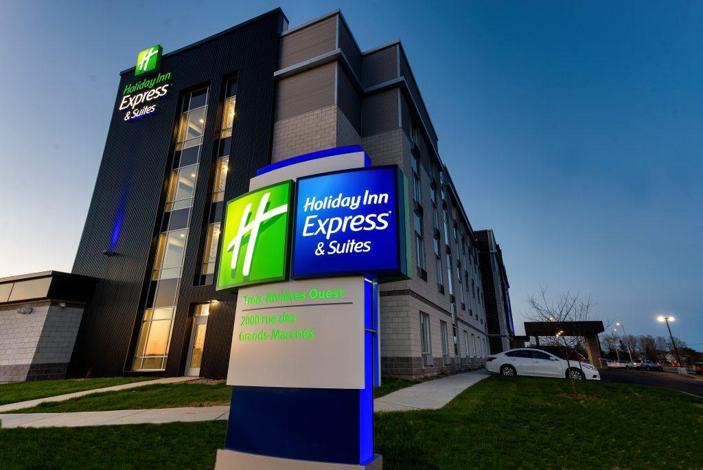 Le nouvel hôtel de Trois-Rivières est le 100e hôtel Holiday Inn Express au Canada